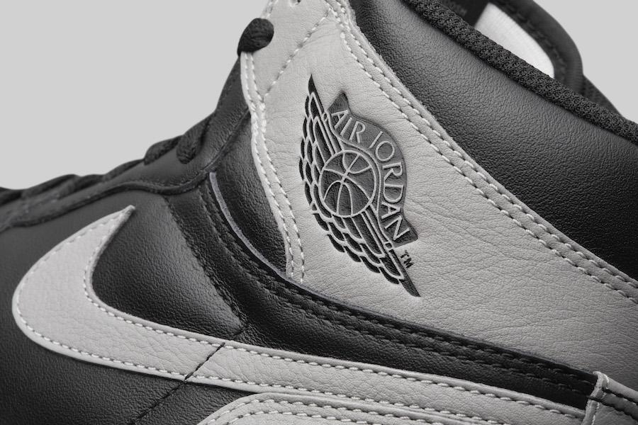 Air Jordan 1 OG Shadow Wings Logo