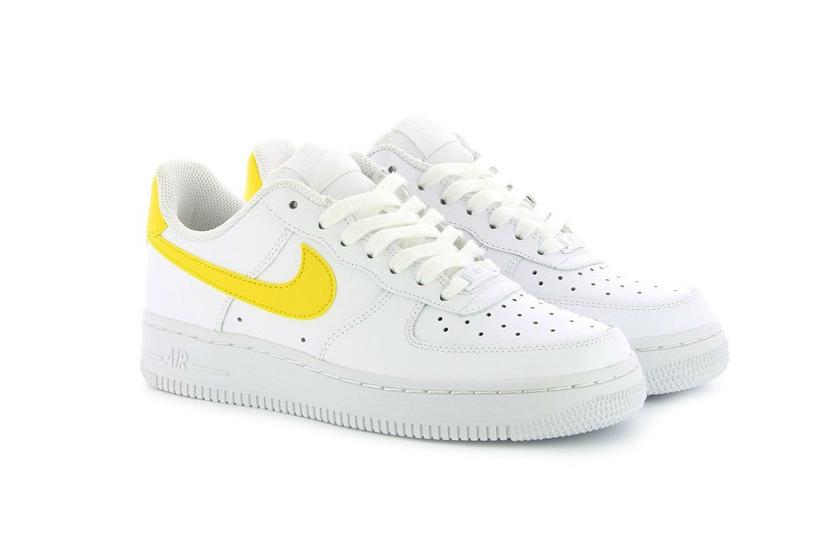 Nike Air Force 1 Low White/Vivid Sulfur-White