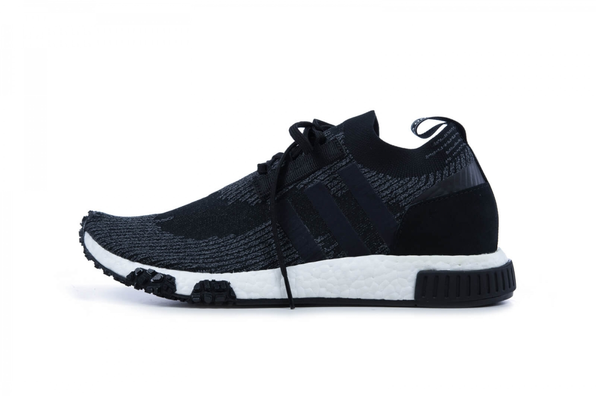 2909b8bf3c9da adidas NMD Racer Primeknit Boost Core Black  Second Generation NMD  Available Now
