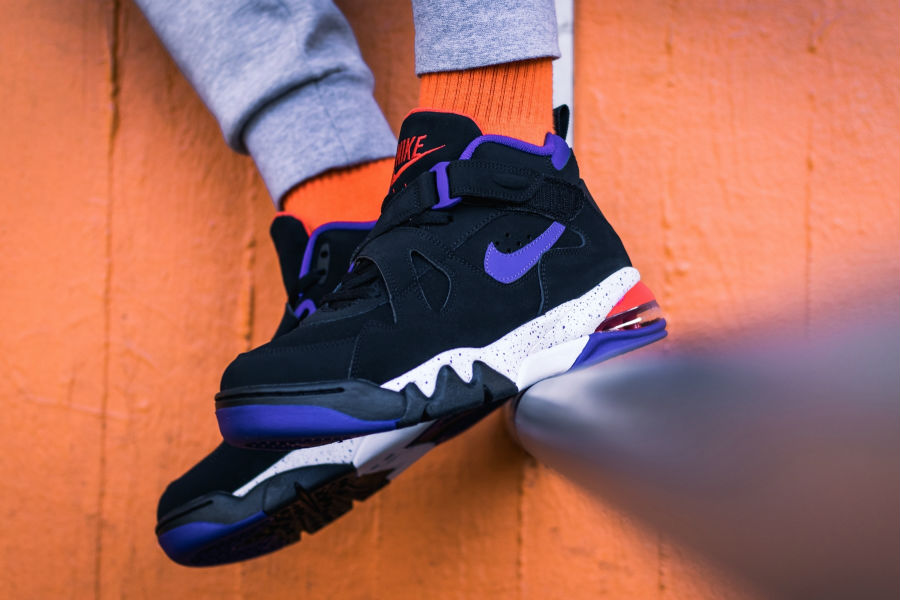 Nike Air Force Max Charles Barkley Black