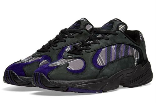 adidas yung 1 black purple