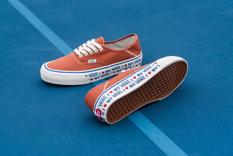 Vans Authentic SF Salt Wash Potters Clay
