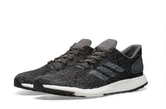 adidas pure boost black raw white